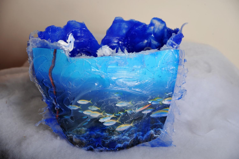 Ice Bucket Deep Blue