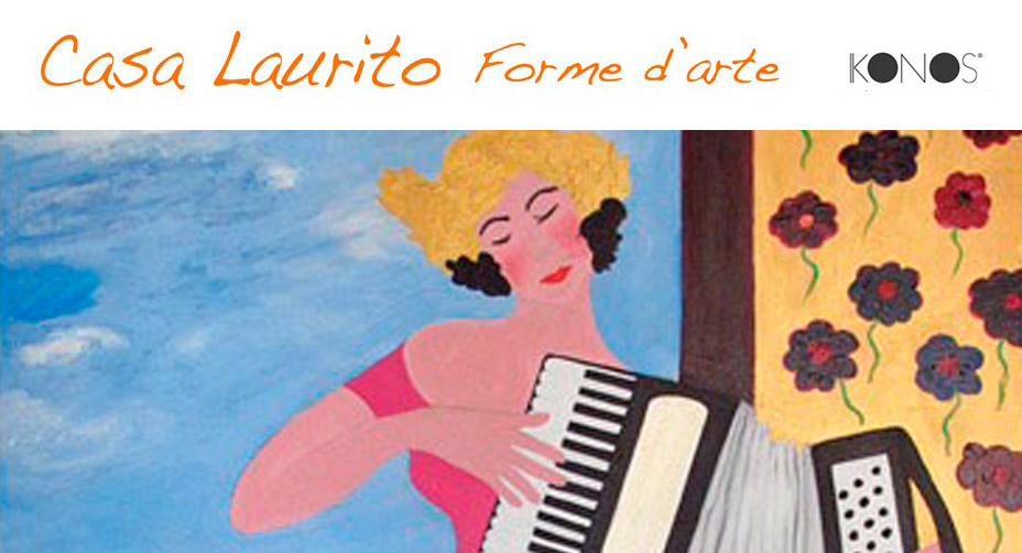 """Lunedì 10 dicembre a Roma, inaugurazione della mostra """"CASA LAURITO: FORME D'ARTE"""""""