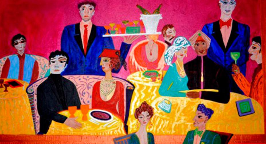 I quadri di Marisa in mostra a Siracusa
