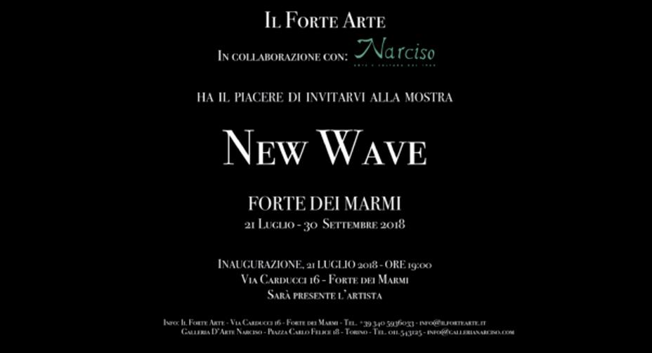 """Mostra """"New Wave"""" a Forte dei Marmi"""